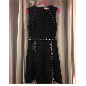 Michael Kors Studded Zipper Dress